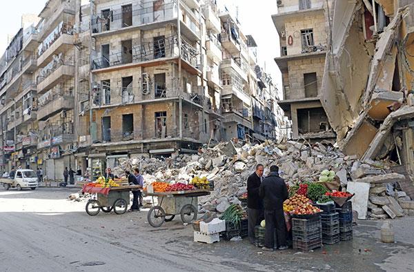 Alep-Syrie-AFP-Mars-2014